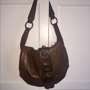 Handbags - Rugged Brown Handbag